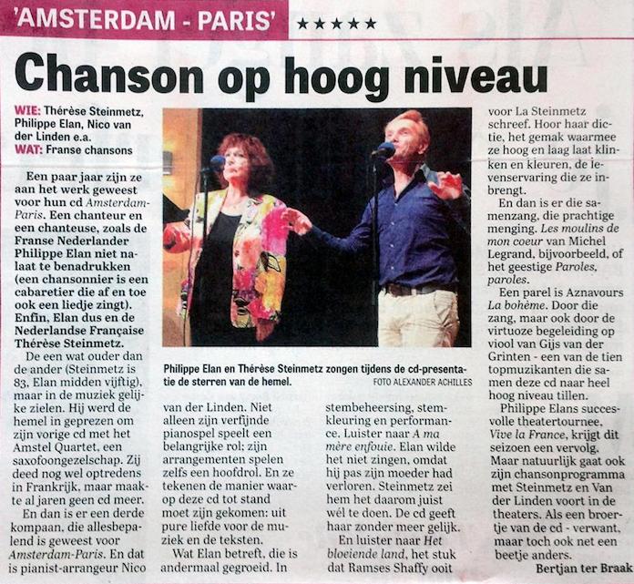 De Telegraaf, 20.09.2016