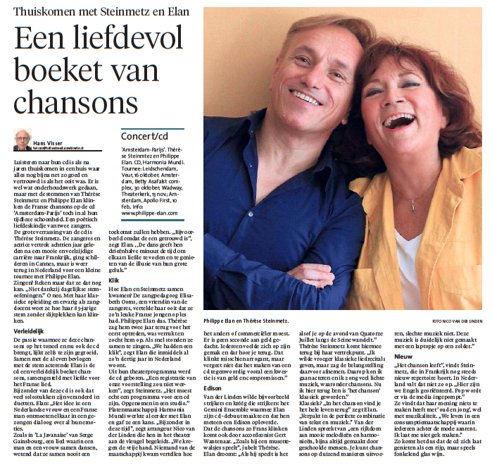 Noorhollands Dagblad , 26:09:2016